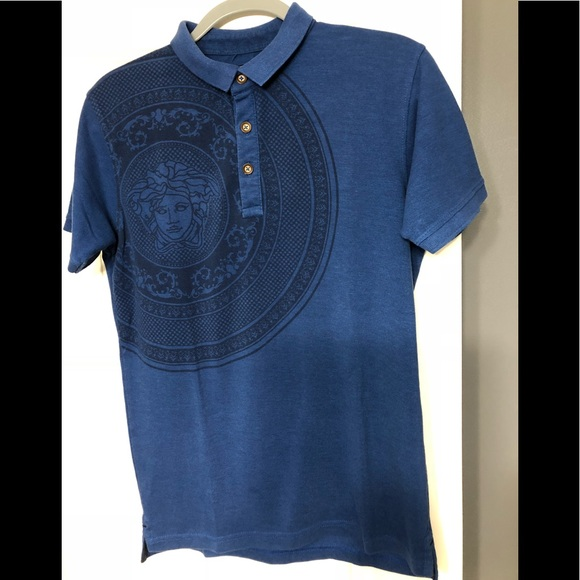 7b4836d8 Versace Shirts | Jeans Couture Designer Polo M | Poshmark